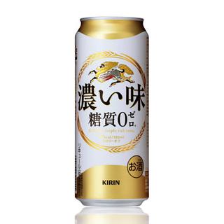 キリン濃い味糖質0ビール