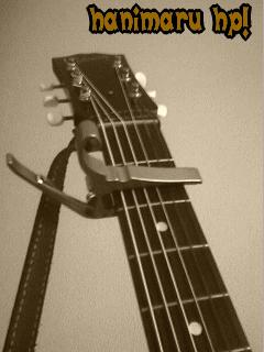 アコースティックギターカポタスト写真